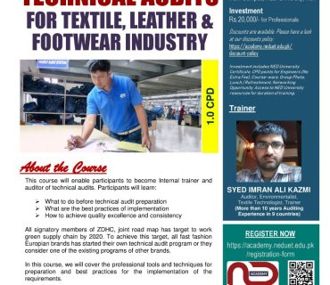 Professional Short Course at NED-UET